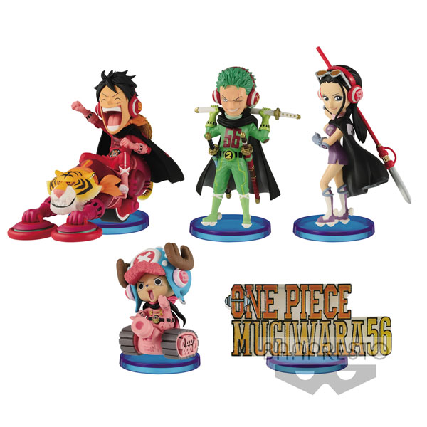 Thousand Sunny /& Luffy One Piece WCF Mega World Collectible Figure Special!
