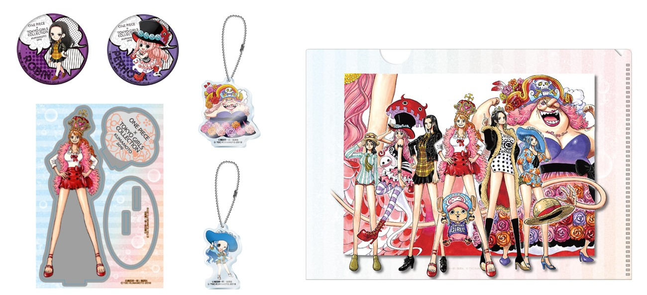 One Piece Tokyo Girls Collection Cafe - The One Piece Podcast
