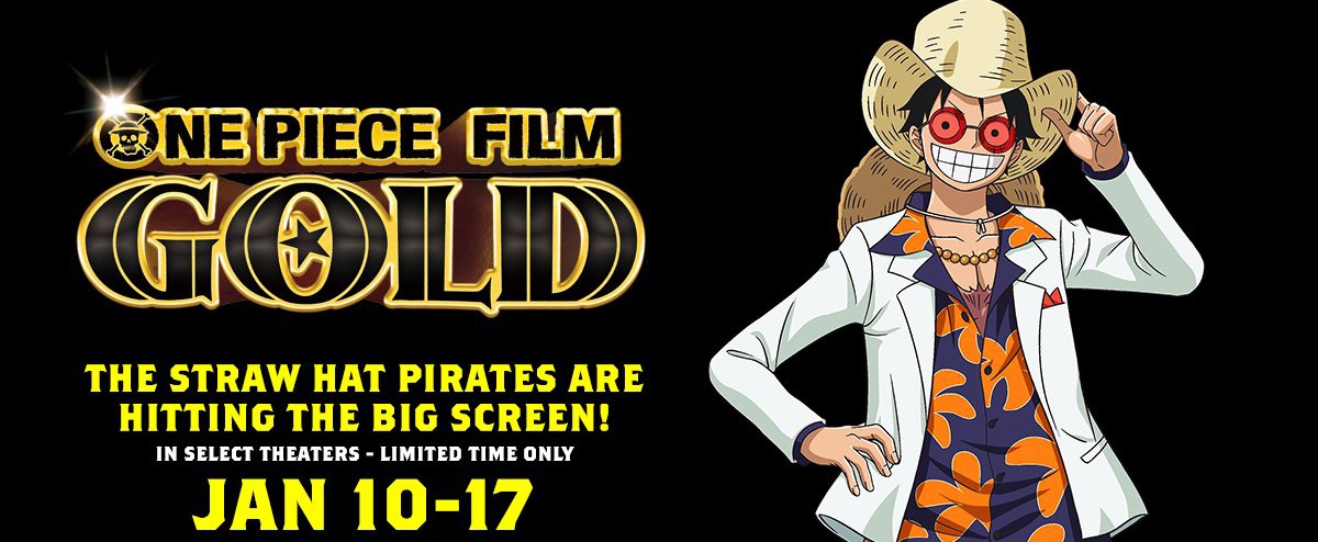 One Piece Film Gold English Voice Cast, Second Dubbed ...