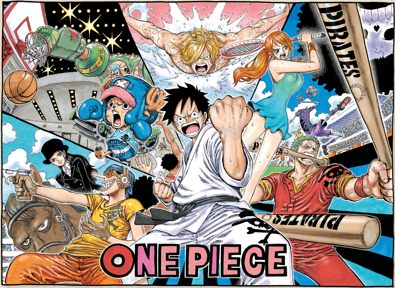 One Piece Collaborates for 2020 Olympics - The One Piece Podcast