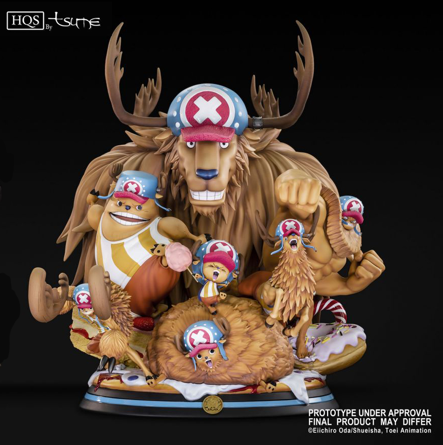 Tony Tony Chopper High Quality Statue By Tsume (Preorder) - The One Piece Podcast